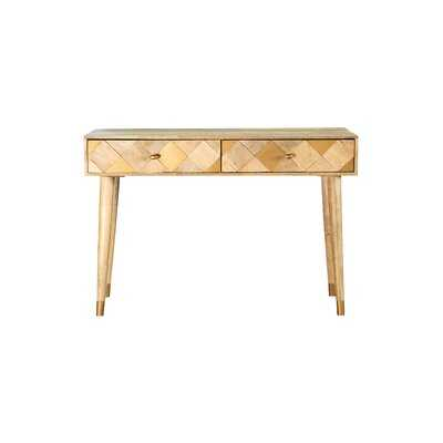 "Feist 44"" Solid Wood Console Table - Wayfair"