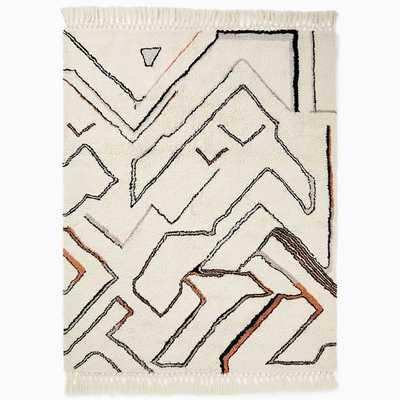 Wanderer Shag Rug, 9'x12', Copper - West Elm