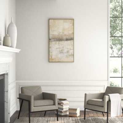 "JBass Grand Gallery Collection 'Open Space II' - Print on Canvas Size: 47.75"" H x 27.75"" W x 1.5"" D - Perigold"