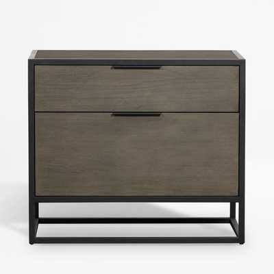 Oxford Shale Lateral File Cabinet - Crate and Barrel