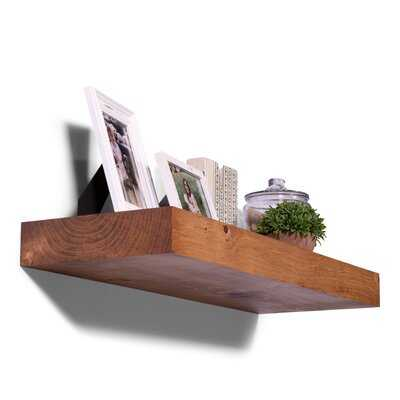 Brough Pine Solid Wood Floating Shelf - Wayfair