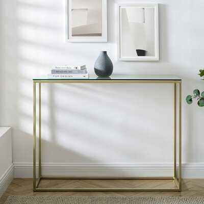 "Dorian 42"" Console Table - Wayfair"