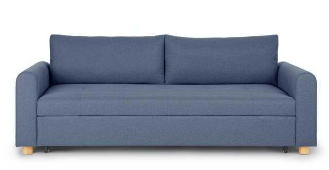 Nordby Lull Blue Sofa Bed - Article
