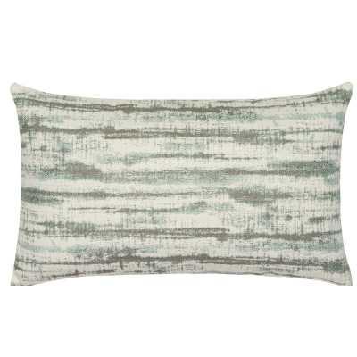 Elaine Smith Indigo Sunbrella Indoor / Outdoor Abstract Lumbar Pillow Color: Light Blue - Perigold
