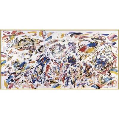 'Arie Colorate, 1993' by Nino Mustica - Floater Frame Painting Print on Canvas - Wayfair