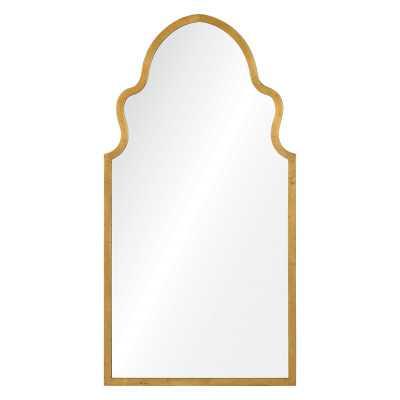 Lincoln Traditional Wall Mirror Finish: Gold - Perigold