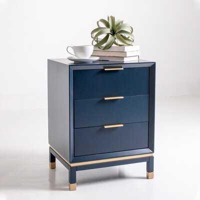 Doylestown Solid Wood 3 Drawer End Table - AllModern
