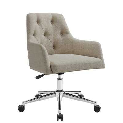 Bilger Linen Task Chair - Birch Lane