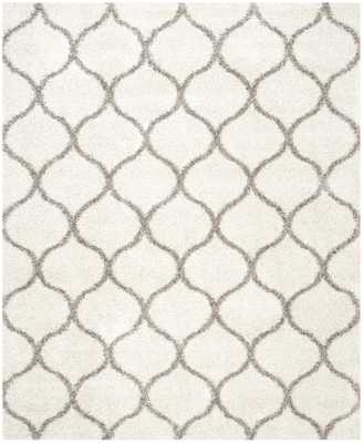 Arlo Home Woven Area Rug, SGH280A, Ivory/Grey,  8' X 10' - Arlo Home