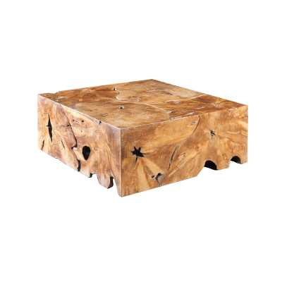 Phillips Collection Slice Solid Wood Block Coffee Table - Perigold