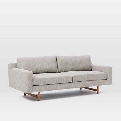 "Eddy 82"" Sofa, Deco Weave, Feather Gray - West Elm"