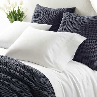 Pine Cone Hill Essential 300 Thread Count 100% Cotton Sheet Set Size: King, Color: White - Perigold