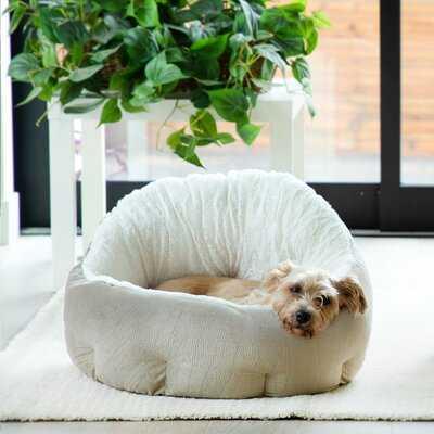 Ilan Deep Dish Plush Dog Bed Cat Cuddler Bolster - Wayfair