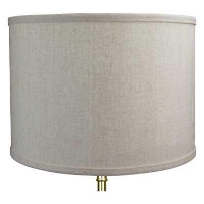 "14"" Linen Drum Lamp Shade - Wayfair"