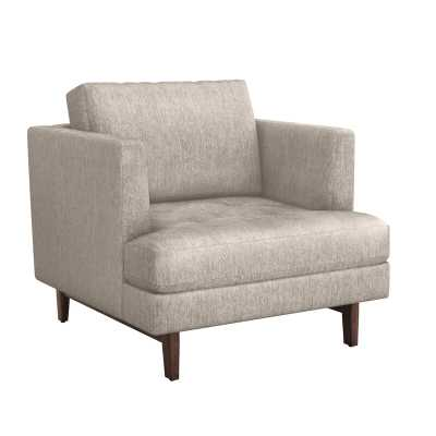 Interlude Ayler Lounge Chair Upholstery Color: Bungalow - Perigold