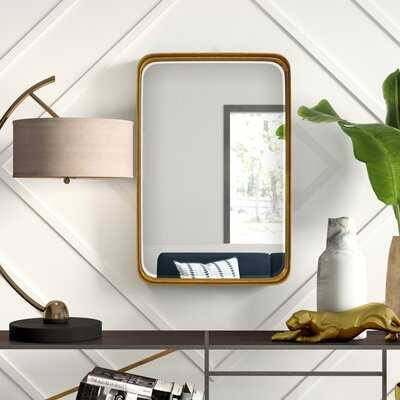 Lugo Modern & Contemporary Beveled Accent Mirror - Wayfair