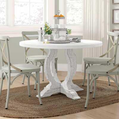 Idora Solid Wood Dining Table - Wayfair