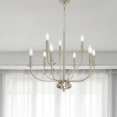 9 - Light Candle Style Empire Chandelier - Wayfair