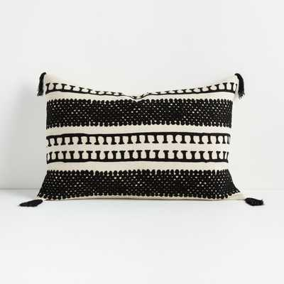"Ira Pillow 16""x24"" - Crate and Barrel"