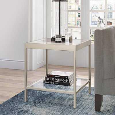 SeralGlass Top End Table - Wayfair
