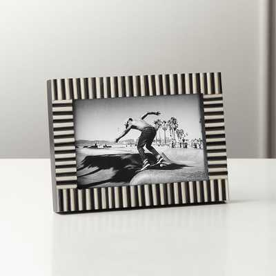 "Jackson Horn and Bone Frame 4""x6"" - CB2"