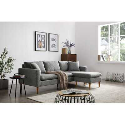"Saville 87"" Reversible Modular Sectional - Wayfair"