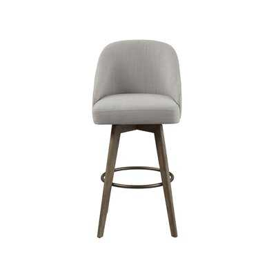 "Broxton Swivel 30"" Bar Stool - Wayfair"