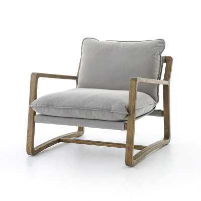 Four Hands Huckins Ace Armchair Fabric: Gray - Perigold