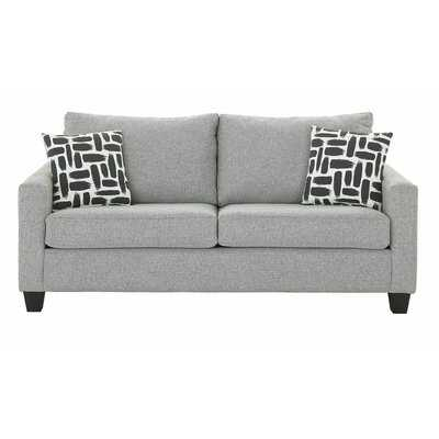 "Gratia Cotton 77"" Square Arm Sofa - Wayfair"