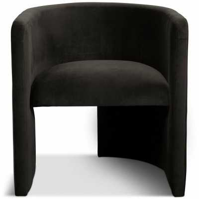 Martinique Barrel Chair Upholstery Color: Black - Perigold