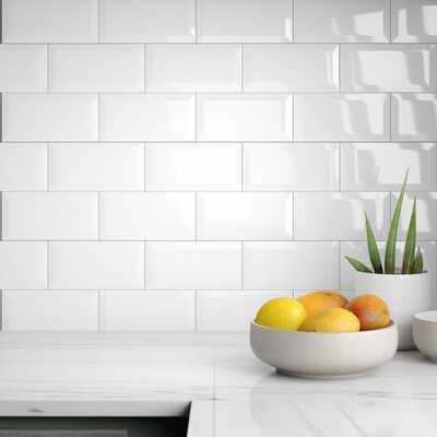 "Keenes 4"" x 8"" Ceramic Subway Tile - AllModern"