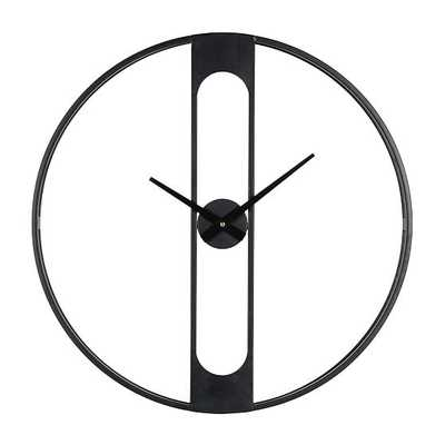 "Industrial Wall Clock, Dimensions 30"" Diameter x 3"" Deep - West Elm"