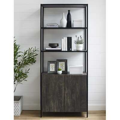 Whitted 80.5'' H x 34'' W Steel Etagere Bookcase - Wayfair