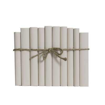 Booth & Williams Decorative Book Set Finish: Seashell - Perigold
