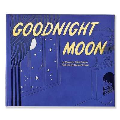 Goodnight Moon Book, Genuine Leather, Multi - West Elm