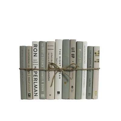 12 Piece Savannah Decorative Books Set - Wayfair