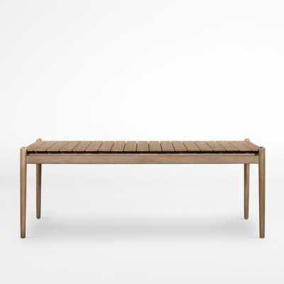 """Oakmont Outdoor 81"""" Dining Table - Crate and Barrel"""