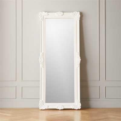 Wessex Carved Floor Mirror - CB2