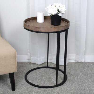 Niglaes Tray Top C Table End Table - Wayfair