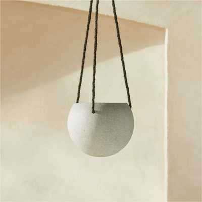 Orb Small Hanging Planter - CB2
