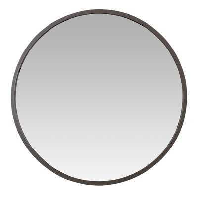 Uecker Modern Round Wall Mirror - Wayfair