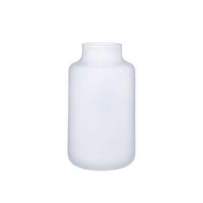 """Nude Mini Magnolia Table Vase Color: Opal White, Size: 7.87"""" H x 4.43 """"W X 4.43"""" D - Perigold"""