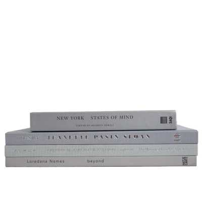 Booth & Williams 4 Piece  Marble Authentic Decorative Book Set - Perigold
