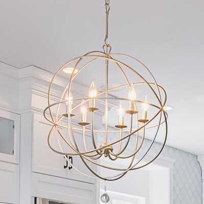 Frisbie 6 - Light Statement Globe Chandelier - Wayfair