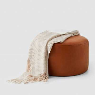 Torres Leather Ottoman - Medium & Large By The Citizenry - The Citizenry