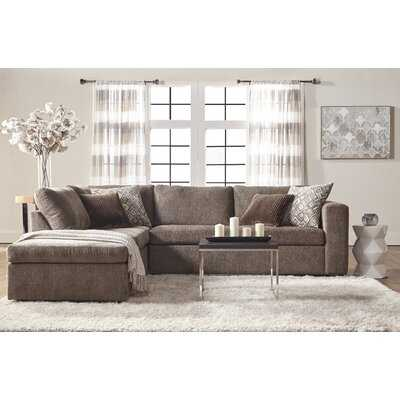 "Isaacs 112"" Left Hand Facing Sectional - Birch Lane"