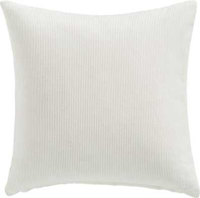 "20"" Anywhere Pillow with Down-Alternative Insert - CB2"