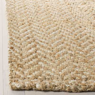 Arlo Home Hand Woven Area Rug, NF264A, Ivory/Natural,  10' X 14' - Arlo Home