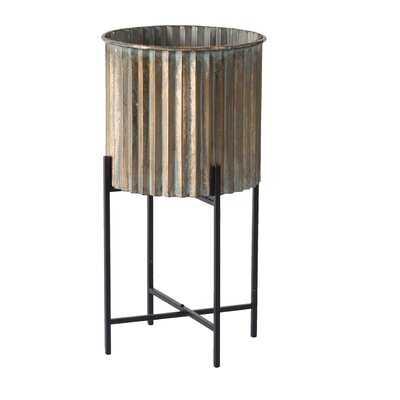 Mazzola Round Plant Stand - Wayfair