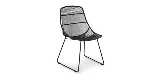 Selka Black Dining Chair - Article